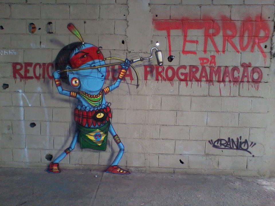 Cranio Grafite Dionisio Arte