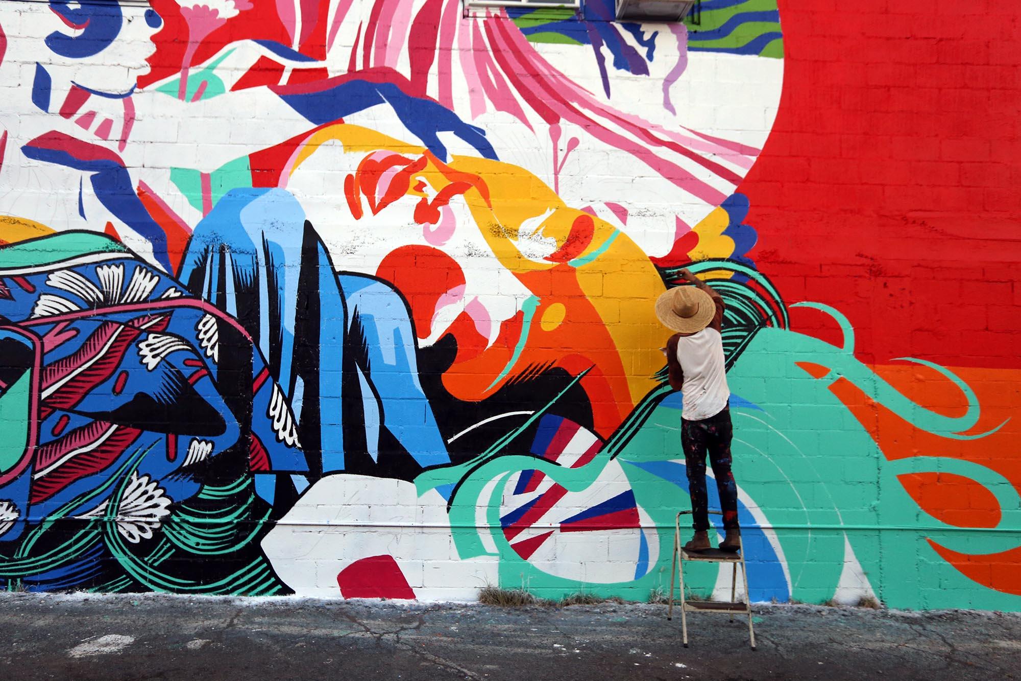 bicicleta sem freio-pow wow festival-mural-grafite-dionisio-arte (1)