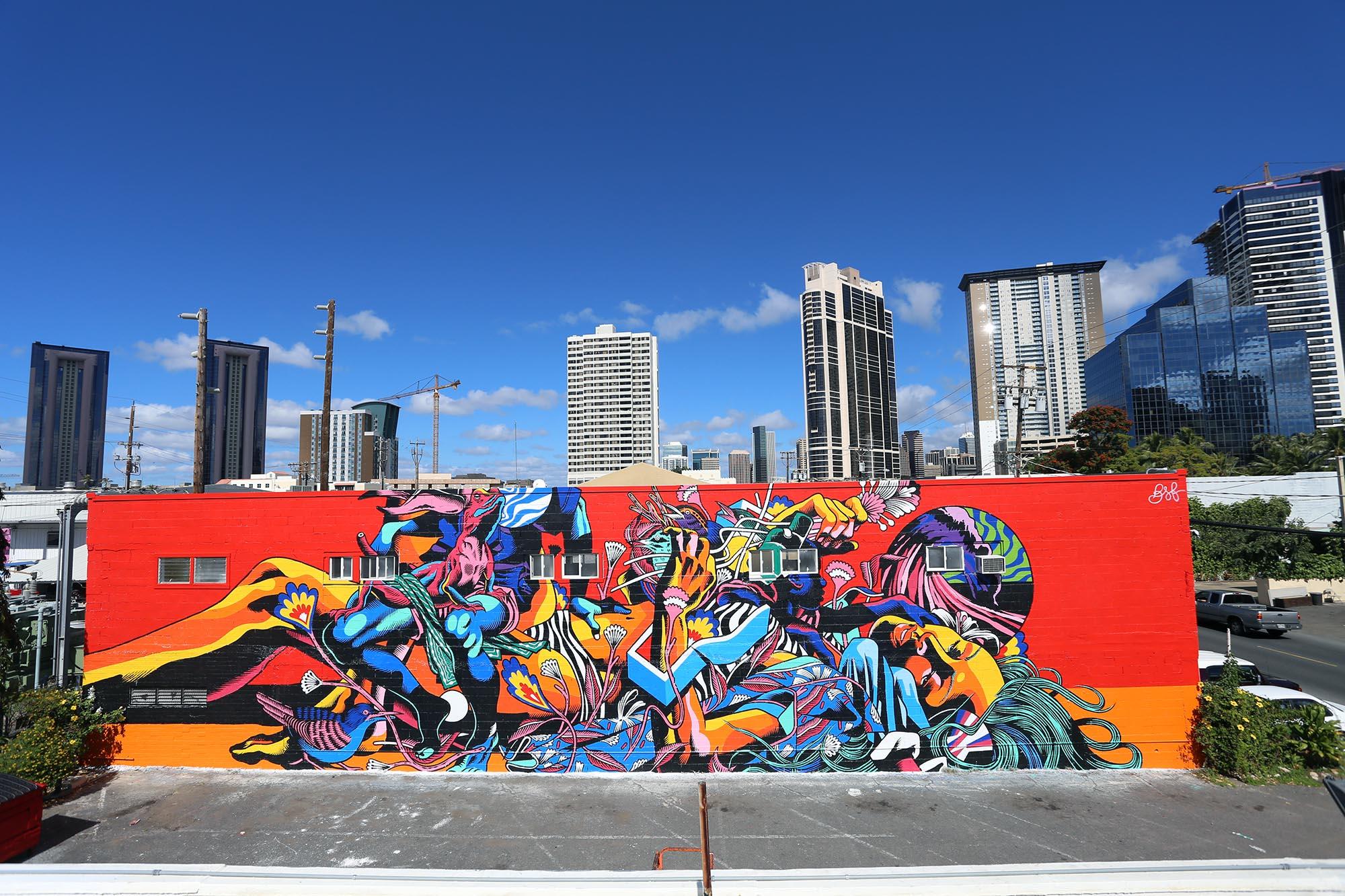 bicicleta sem freio-pow wow festival-mural-grafite-dionisio-arte (4)