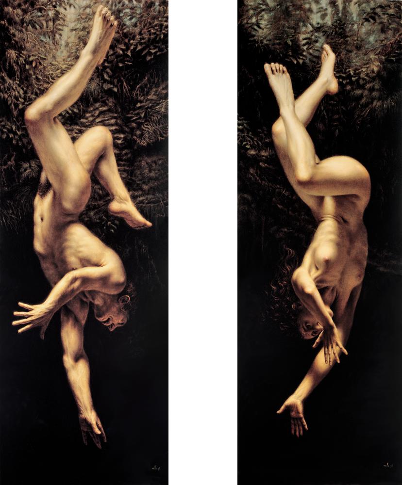 dino-valls-pintura-oleo-vanguarda-arte-figurativa-dionisio-arte-LA-CREACION-DE-TZADE