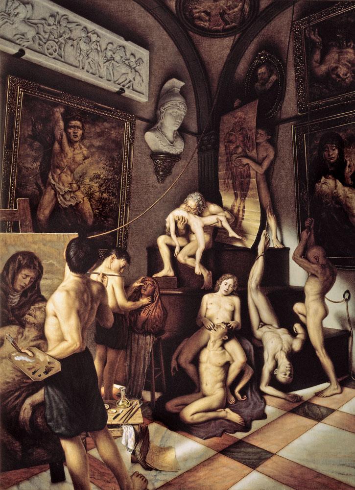 dino-valls-pintura-oleo-vanguarda-arte-figurativa-dionisio-arte-SOLVE-ET-COAGULA