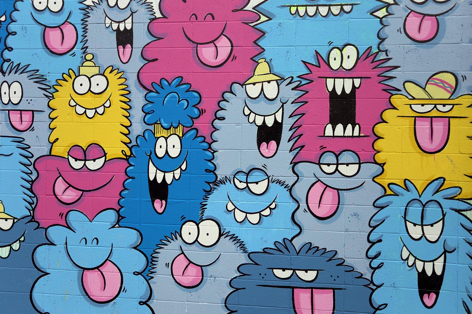 kevin lyons pow wow festival grafite mural 2016 (4)