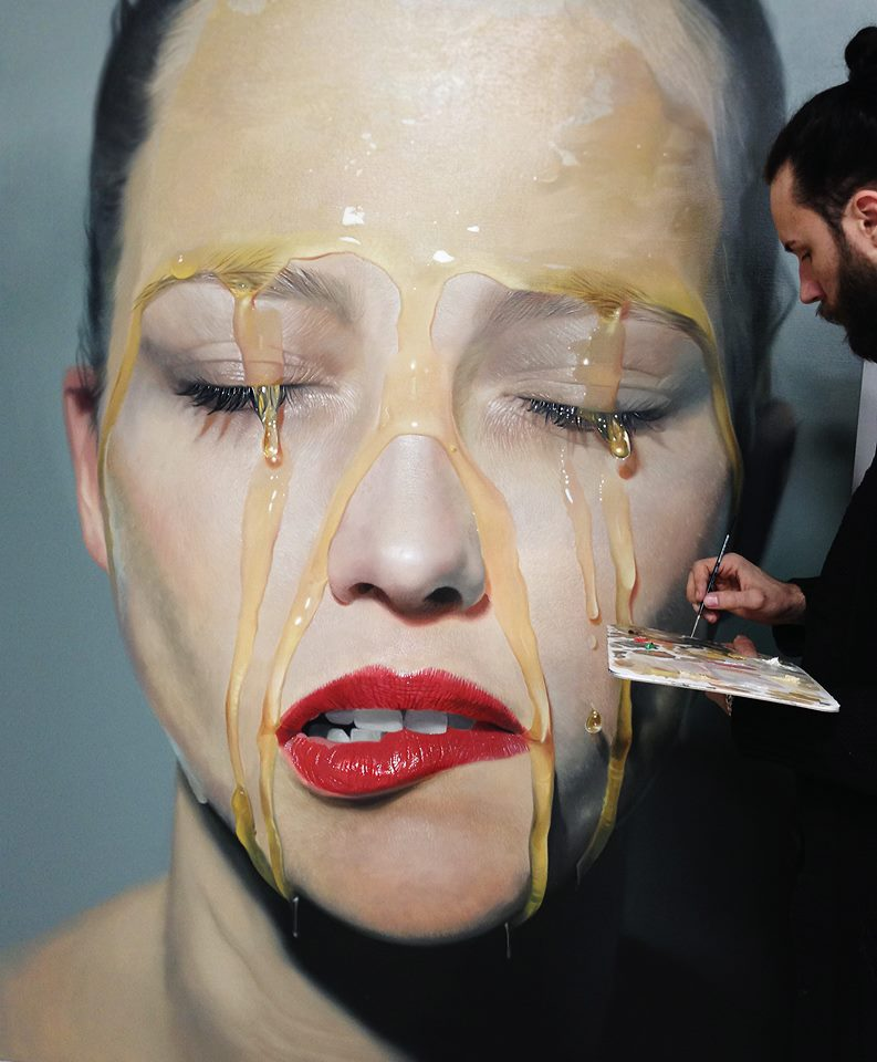mike dargas hiper realismo surrealismo retratos tattoo dionisio arte (17)
