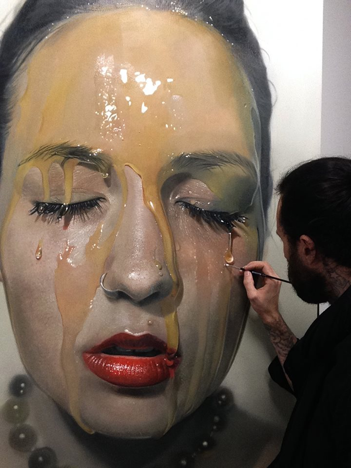 mike dargas hiper realismo surrealismo retratos tattoo dionisio arte (20)