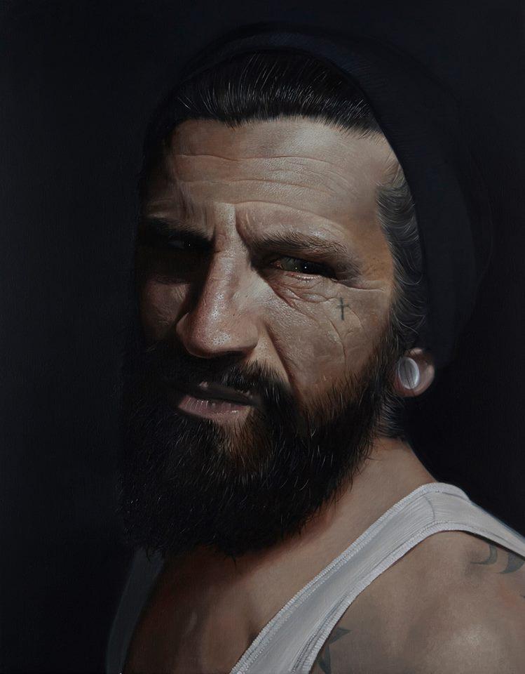 Hiper realismo de Mike Dargas