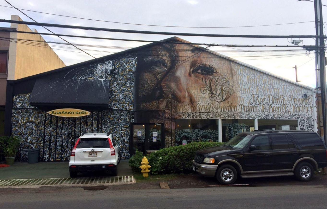pow wow honolulu hawaii grafite mural dionisio arte (2)