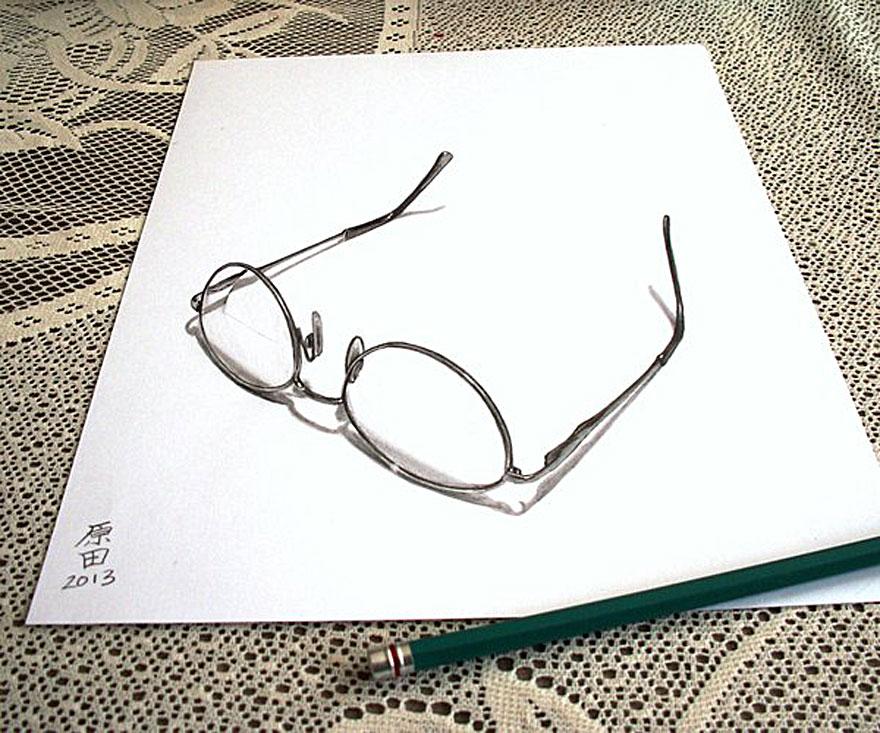 desenhos 3d papel lapis (12)