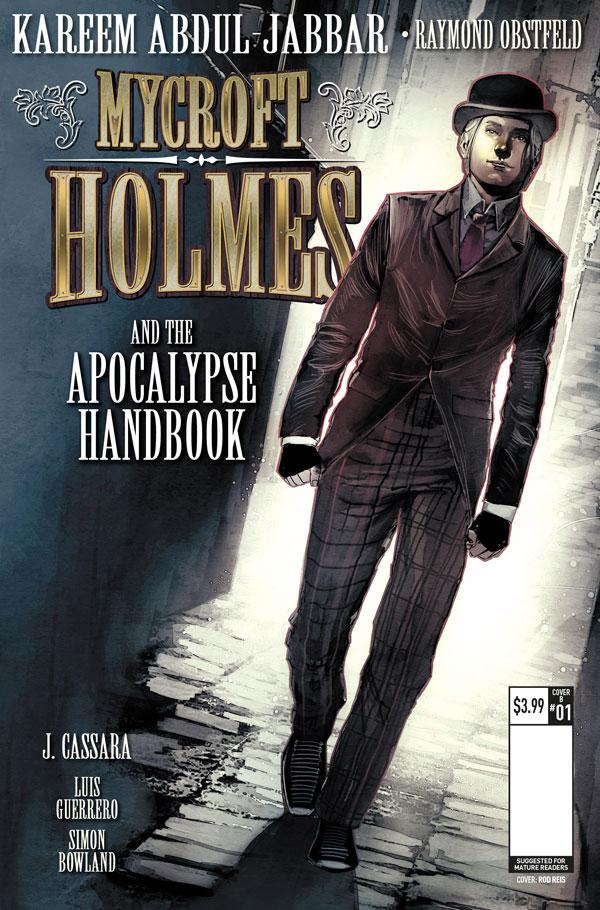 mycroft holmes the apocalypse handbook hq kareem abdul jabbar joshua cassara luis guerrero raymond obstfeld (3)