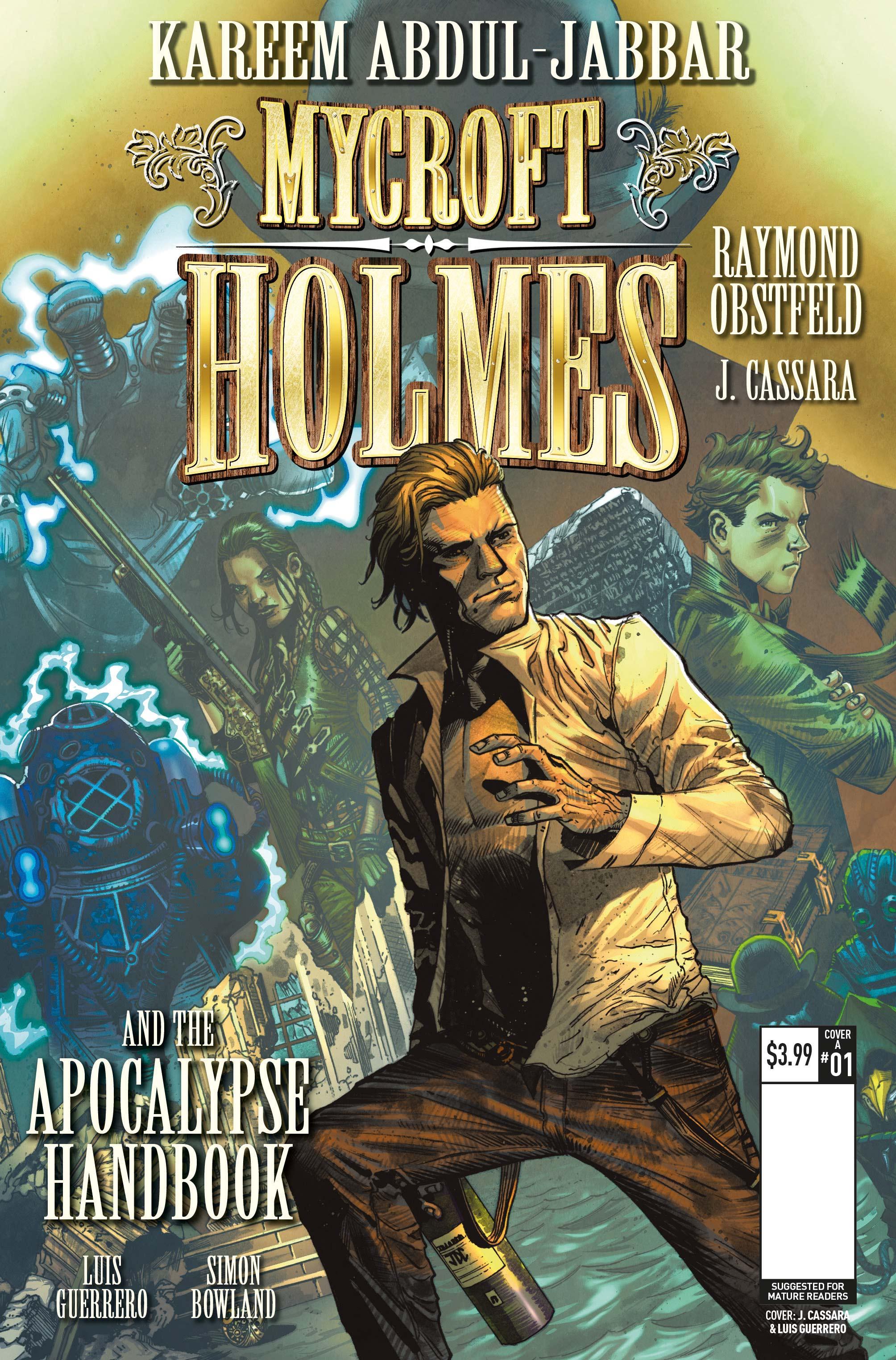 mycroft holmes the apocalypse handbook hq kareem abdul jabbar joshua cassara luis guerrero raymond obstfeld (5)