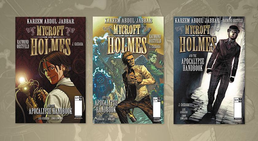 mycroft holmes the apocalypse handbook hq kareem abdul jabbar joshua cassara luis guerrero raymond obstfeld