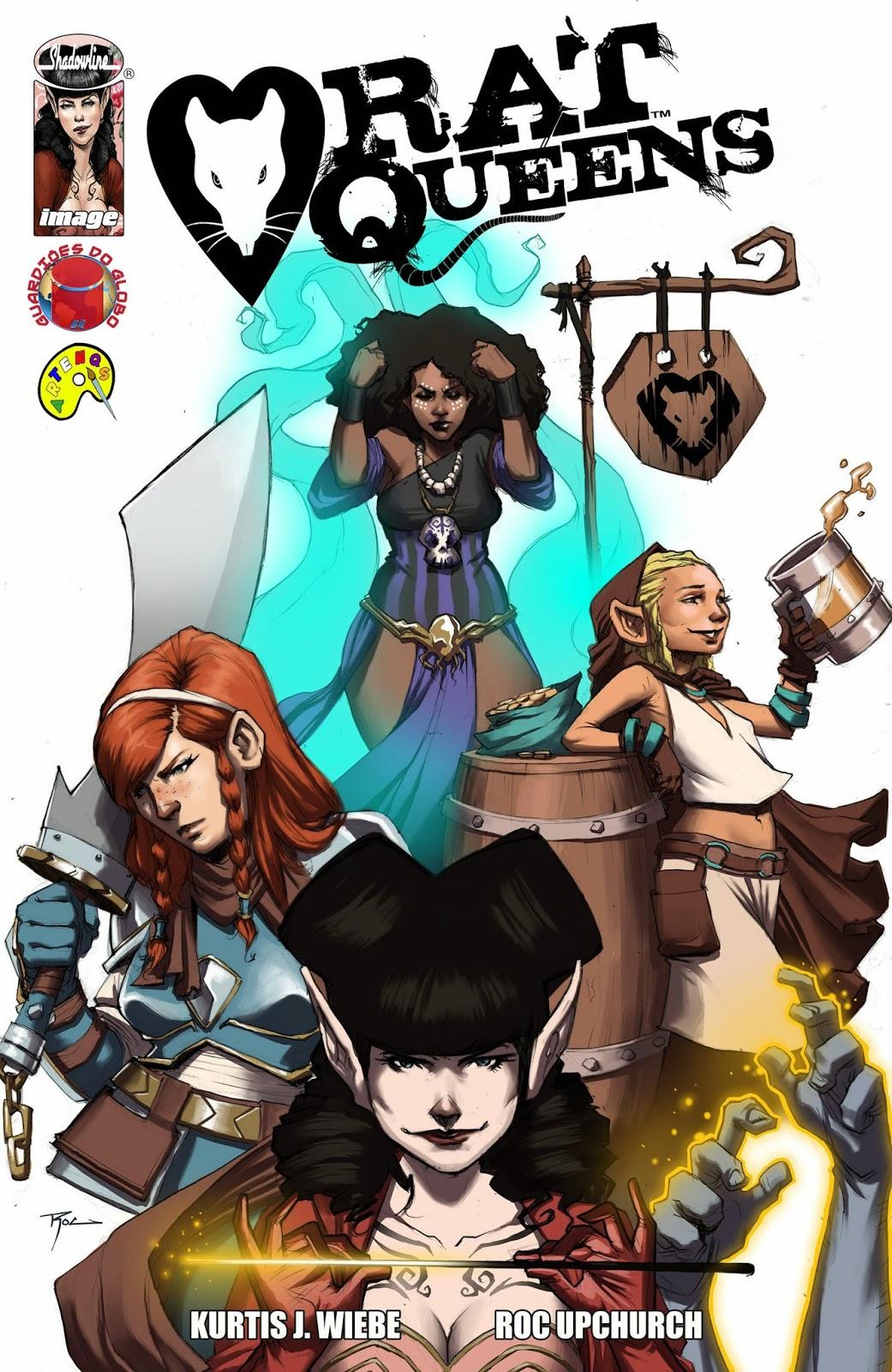 melhores hqs image comics rat queens
