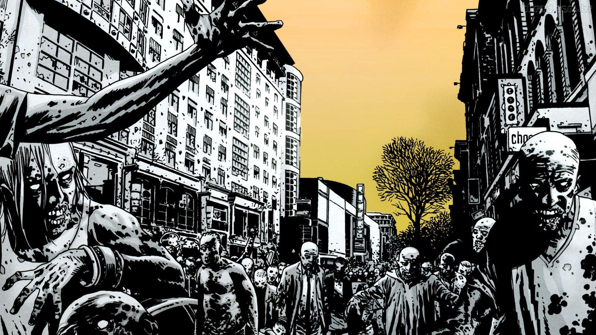 melhores hqs image comics the walking dead