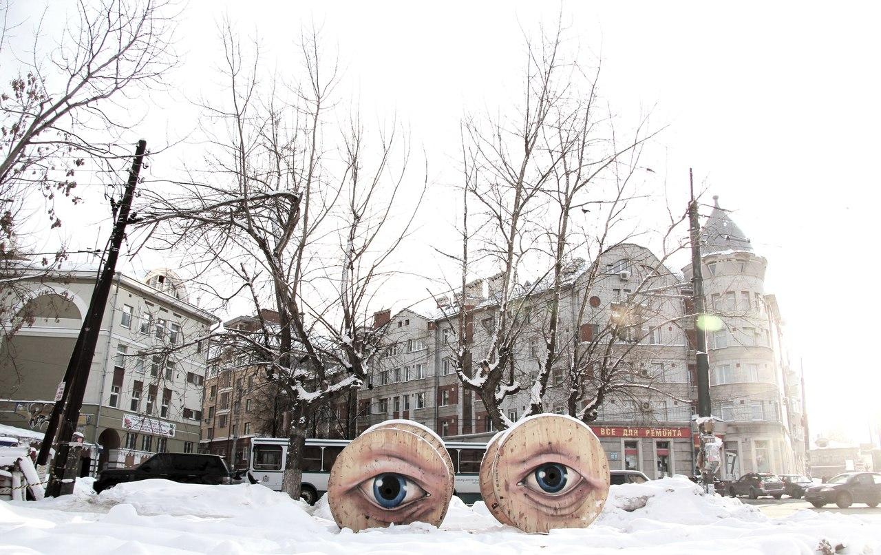 Nikita Nomerz graffiti arte de rua russo faces vida (7)