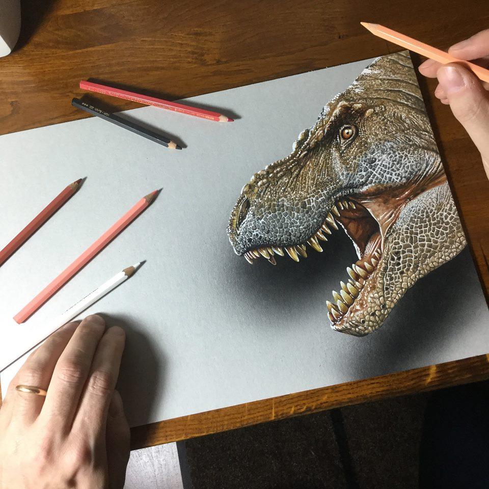 artista marcello Barenghi pintura desenho hiper realismo 3d (16)