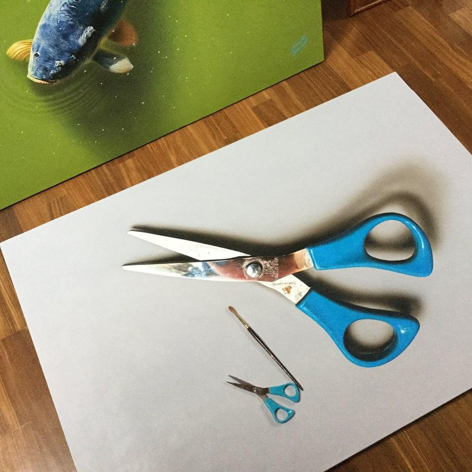 artista marcello Barenghi pintura desenho hiper realismo 3d (18)