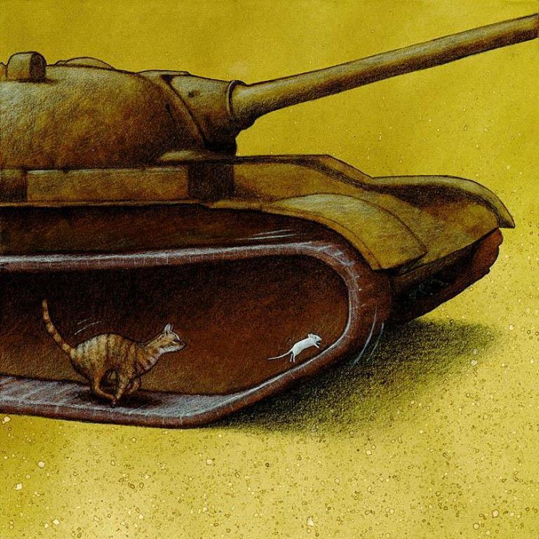 pawel-kuczynski-ilustração-satira-ironia-critica-social-12