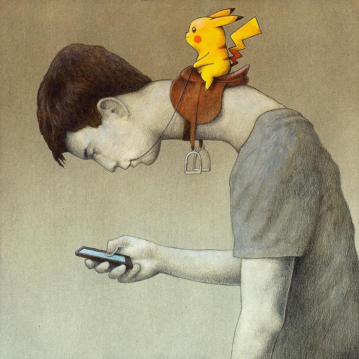 pawel-kuczynski-ilustração-satira-ironia-critica-social-2