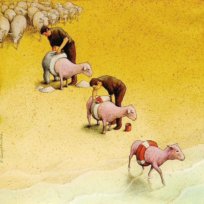 pawel-kuczynski-ilustração-satira-ironia-critica-social-20