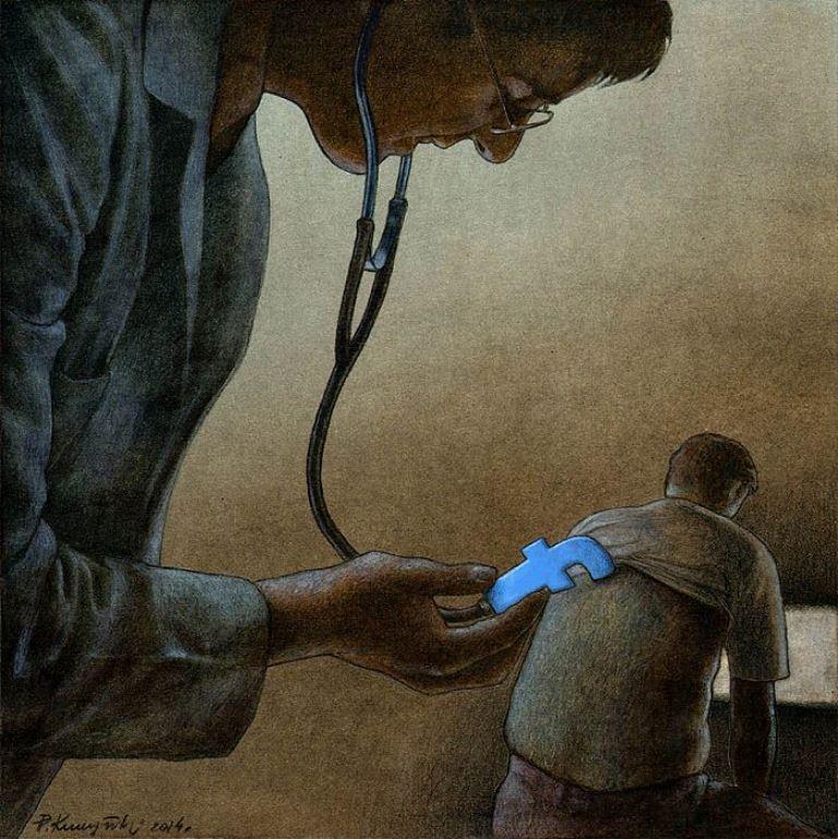 pawel-kuczynski-ilustração-satira-ironia-critica-social-33