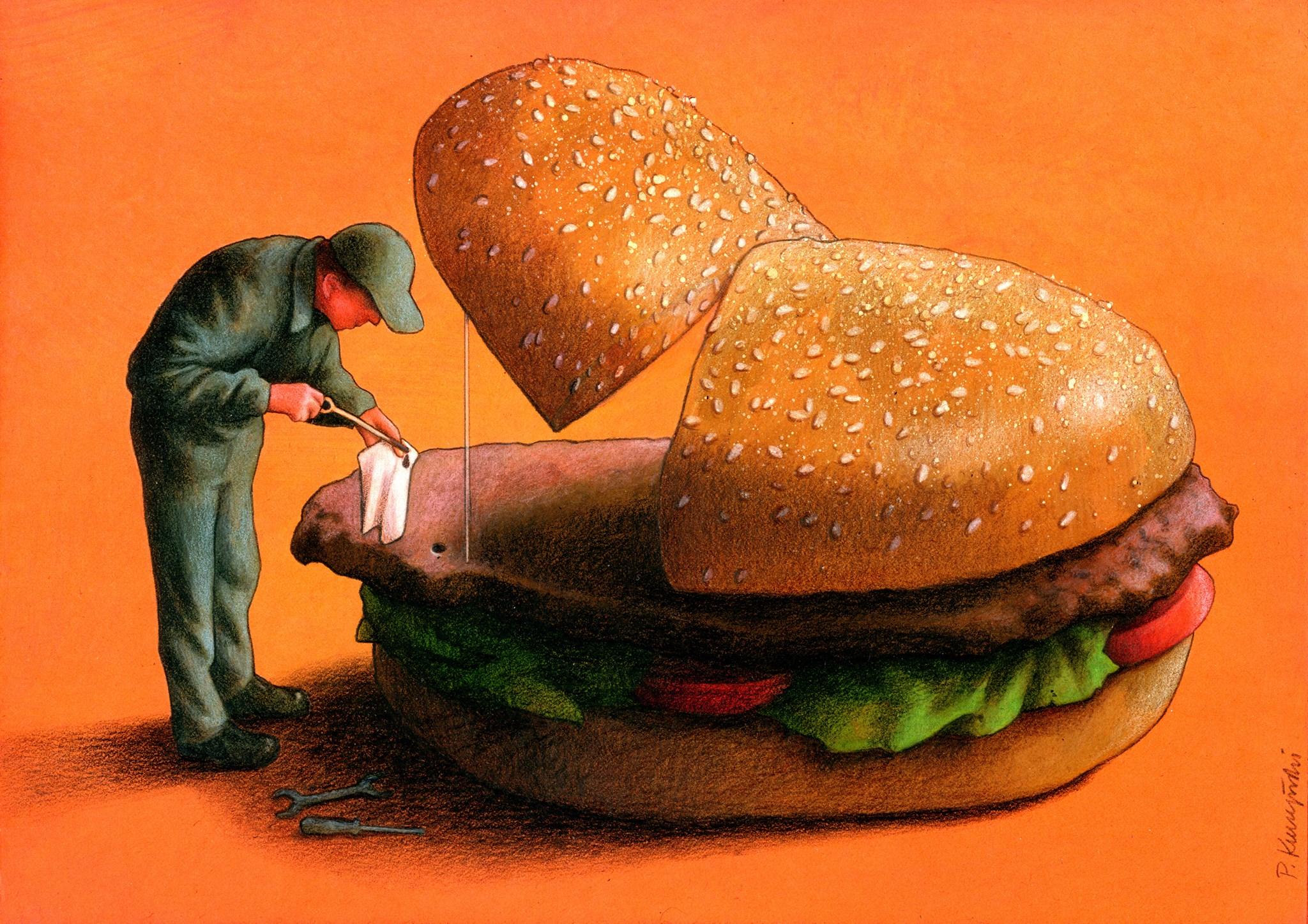 pawel-kuczynski-ilustração-satira-ironia-critica-social-36