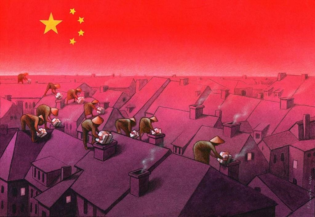 pawel-kuczynski-ilustração-satira-ironia-critica-social-44
