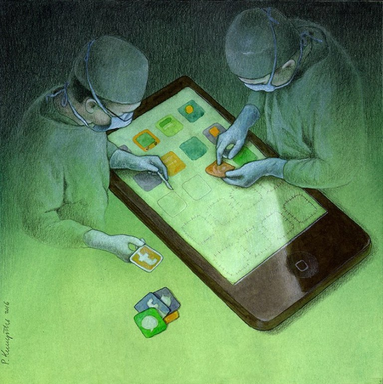 pawel-kuczynski-ilustração-satira-ironia-critica-social-6