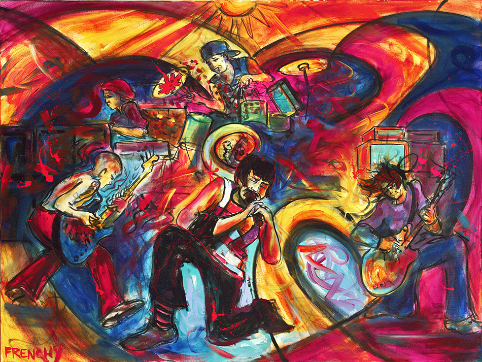 frenchy-live-painting-pintura-new-orleans-cores-red-hot-chilli-peppers