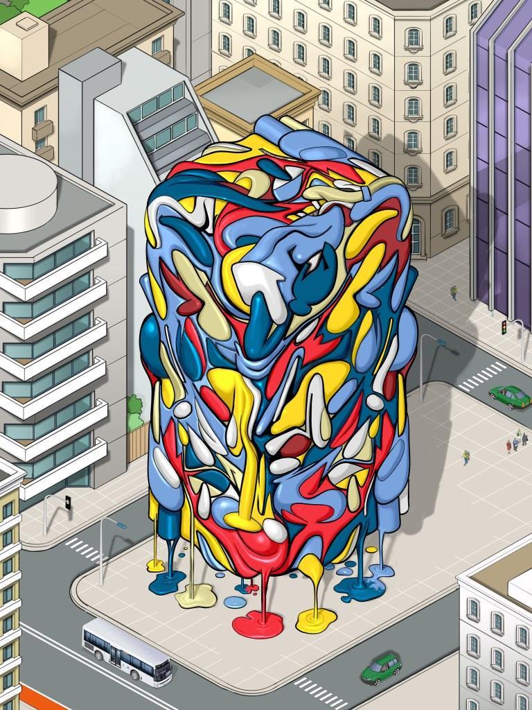 Hector-Gomez-ilustração-brasil-argentina-quadrinhos-hq-desenho-isometric-city