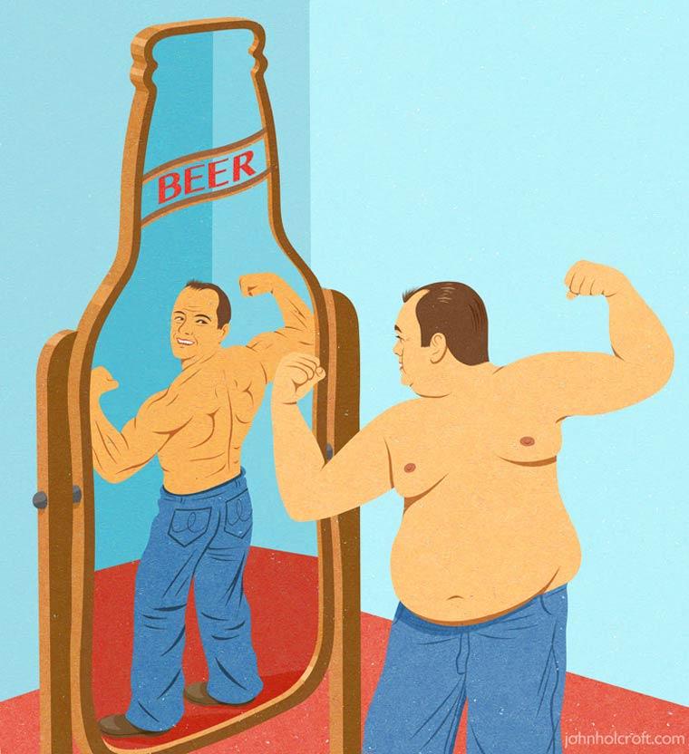 john-holcroft-ilustrações-critica-satira-sociedade-moderna-7