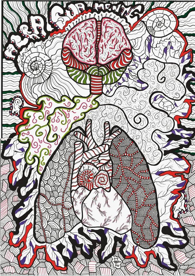 eli castro arte subversiva surrealismo psicodelico pintura telas ilustração dionisio arte (7)