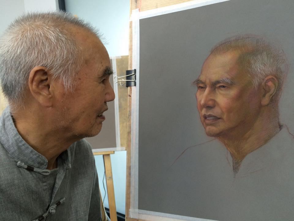 cuong nguyen pintura oleo pastel lapis realismo retrato dionisio arte (21)