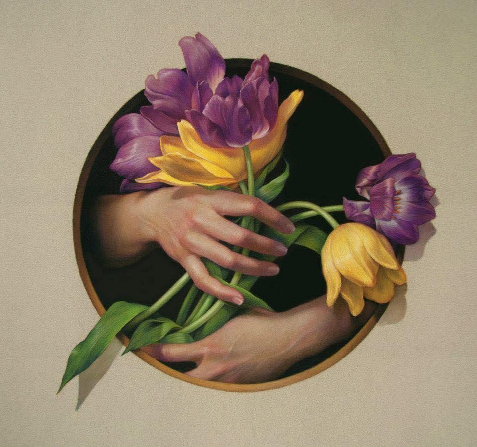 cuong nguyen pintura oleo pastel lapis realismo retrato dionisio arte (27)