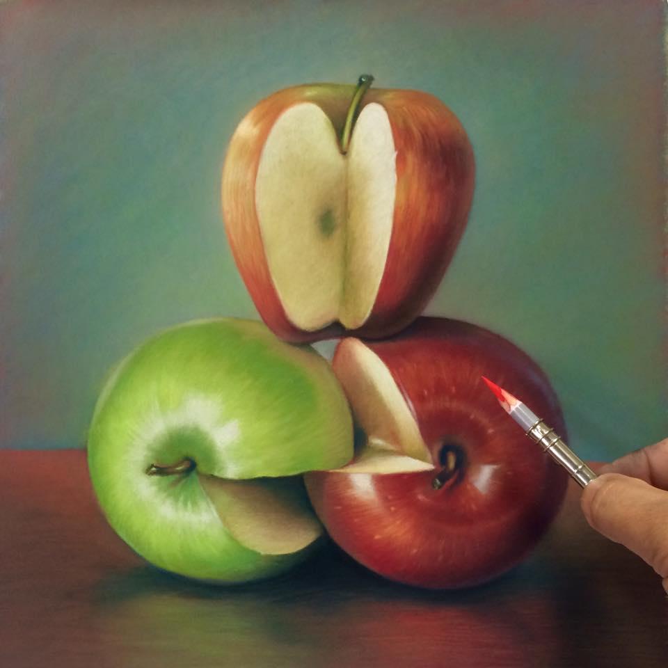 cuong nguyen pintura oleo pastel lapis realismo retrato dionisio arte (31)