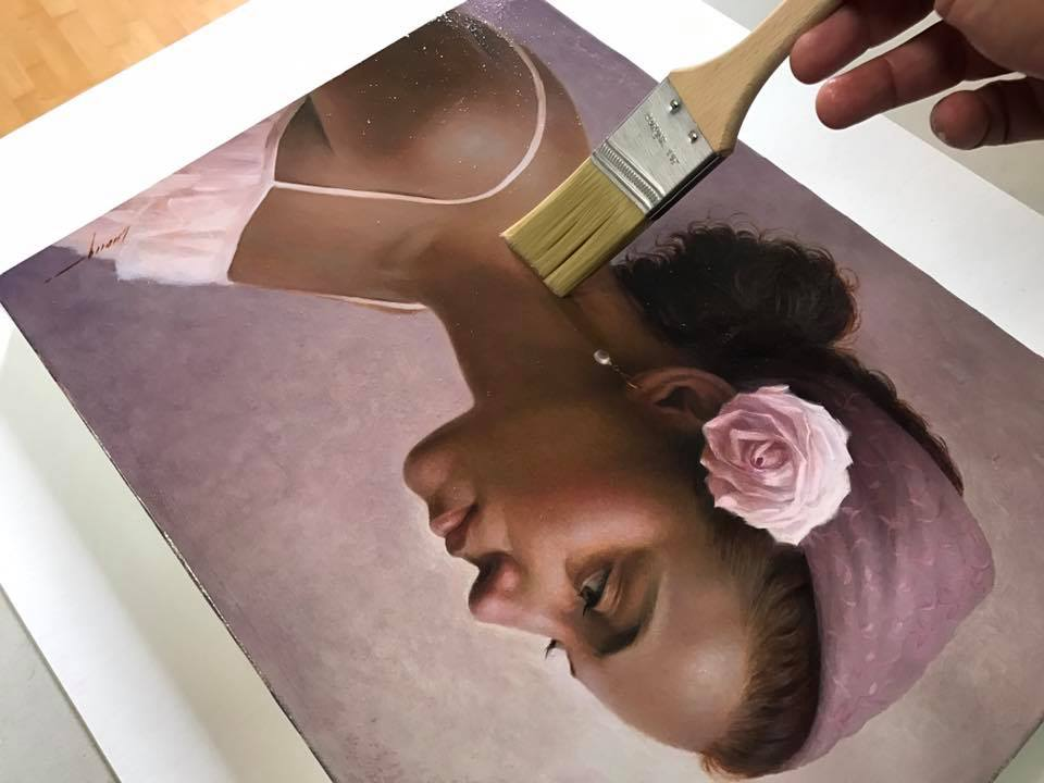cuong nguyen pintura oleo pastel lapis realismo retrato dionisio arte (6)