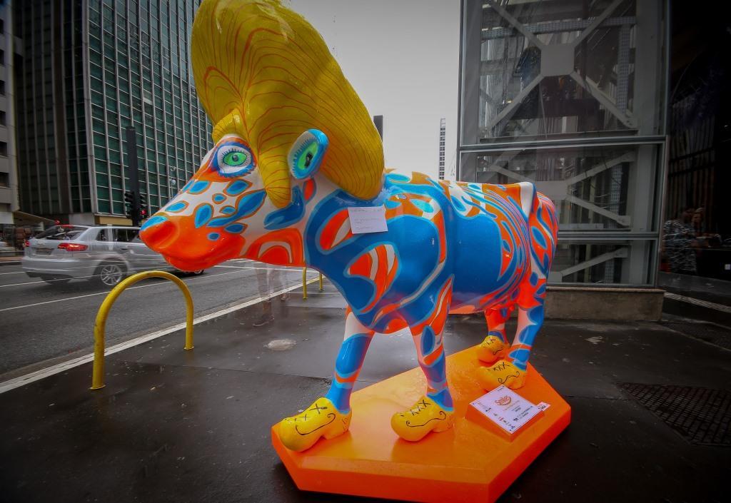 cow parade 2017 sao paulo