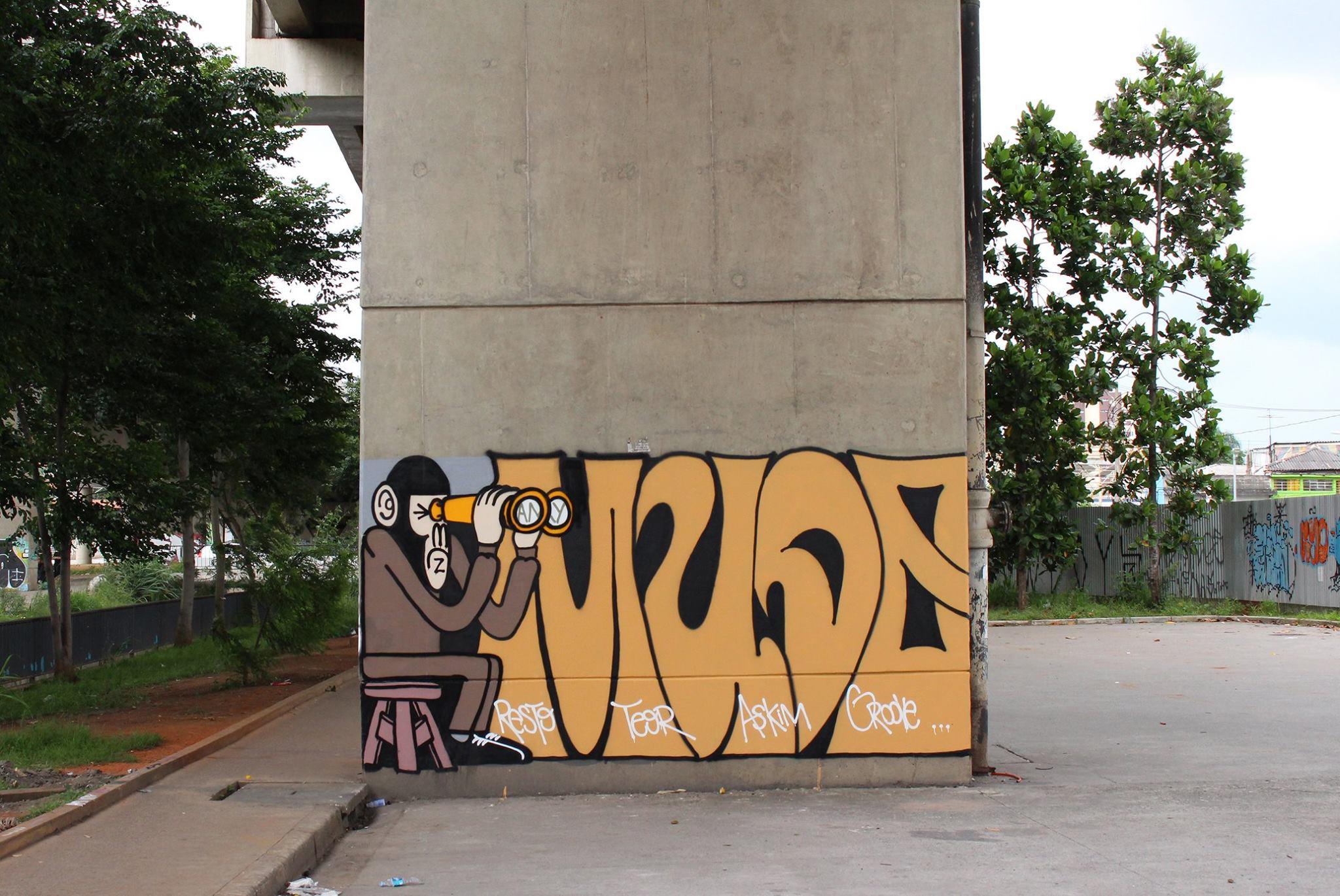 mudo graffiti sao paulo cambuci macaco (4)