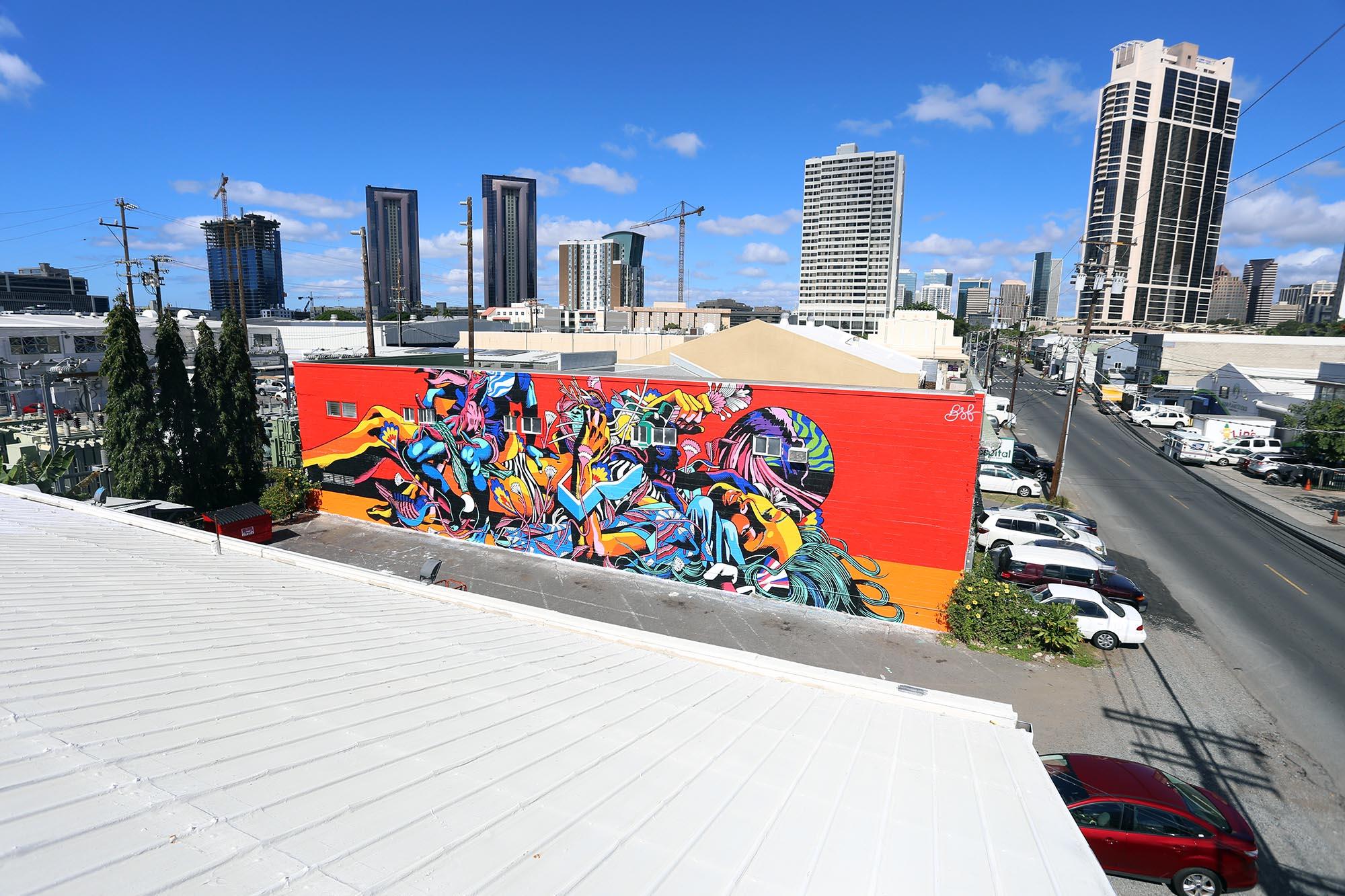 bicicleta sem freio-pow wow festival-mural-grafite-dionisio-arte (3)