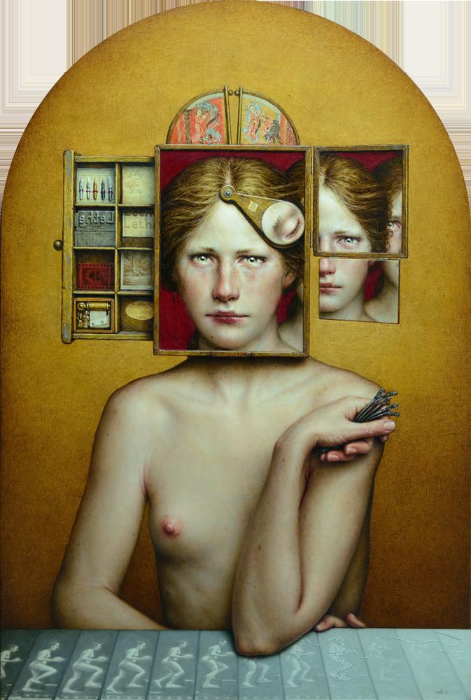 dino-valls-pintura-oleo-vanguarda-arte-figurativa-dionisio-arte-LETHE