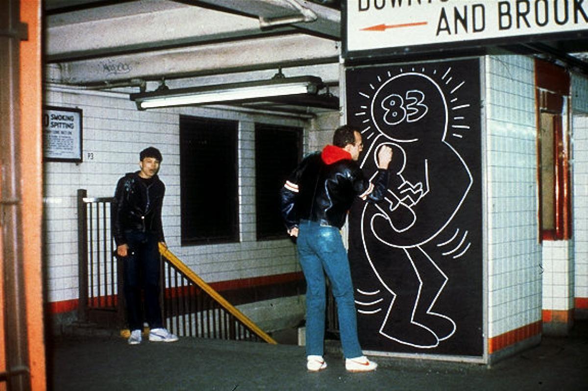 keith-haring-grafite-metro-nova-york-anos-80-dionisio-arte