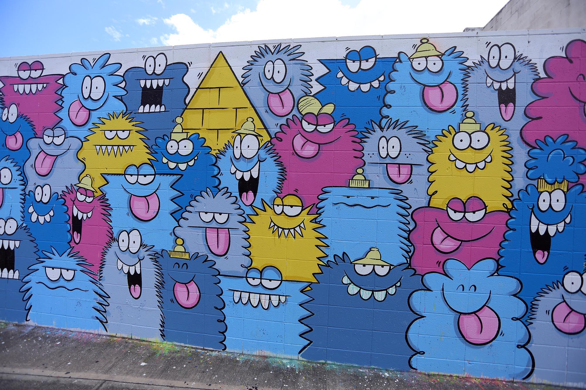 kevin lyons pow wow festival grafite mural 2016 (5)