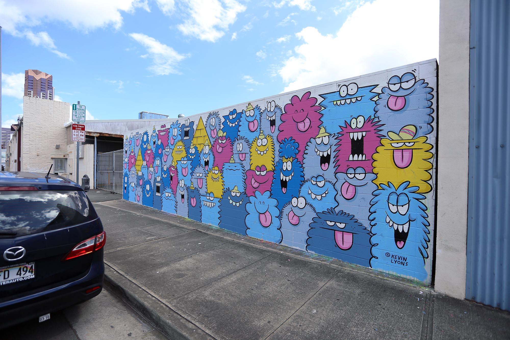 kevin lyons pow wow festival grafite mural 2016 (6)