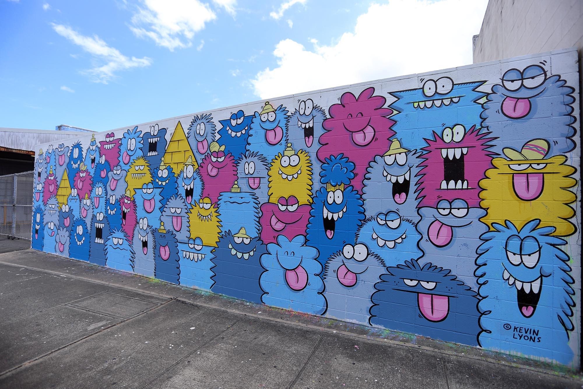 kevin lyons pow wow festival grafite mural 2016 (7)