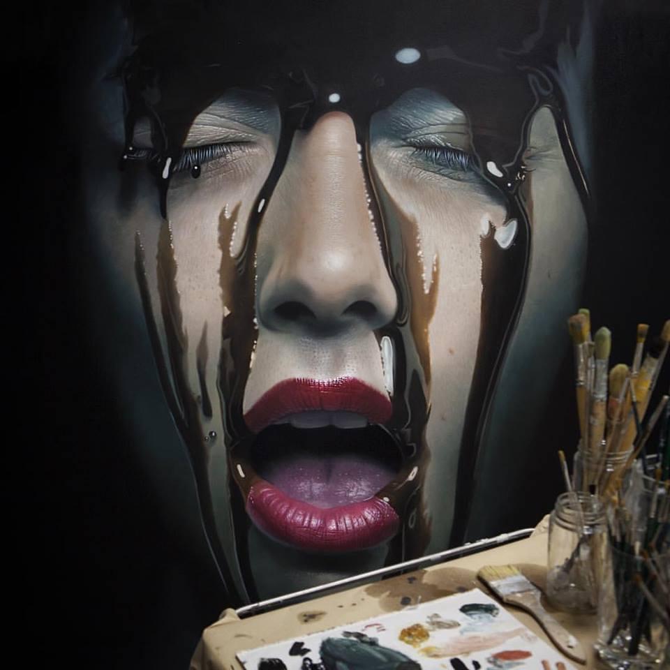 mike dargas hiper realismo surrealismo retratos tattoo dionisio arte (12)