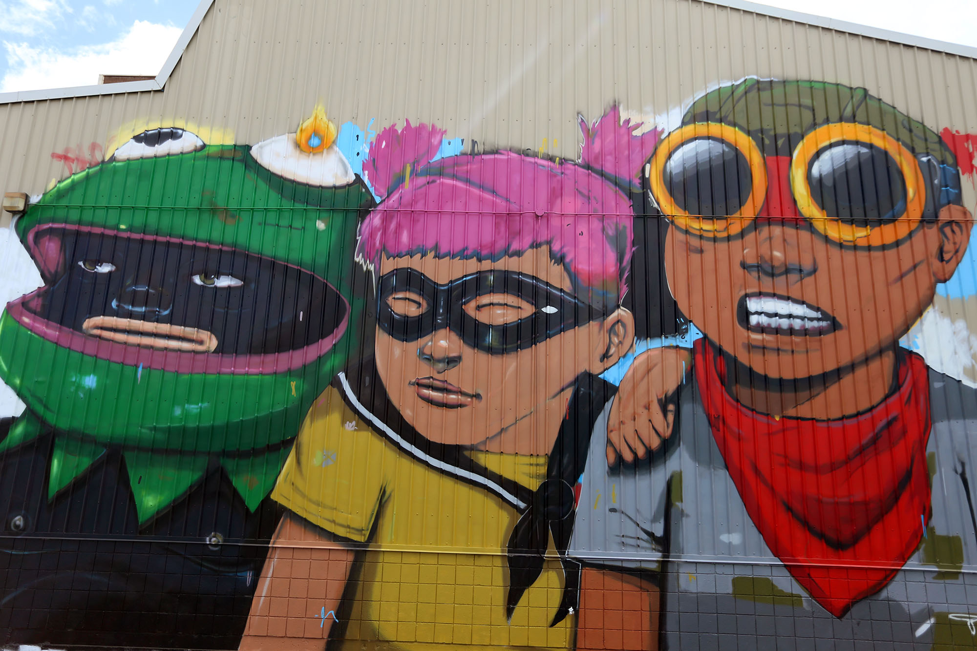 pow wow 2016 hawaii hebru brantley grafite mural dionisio arte (4)