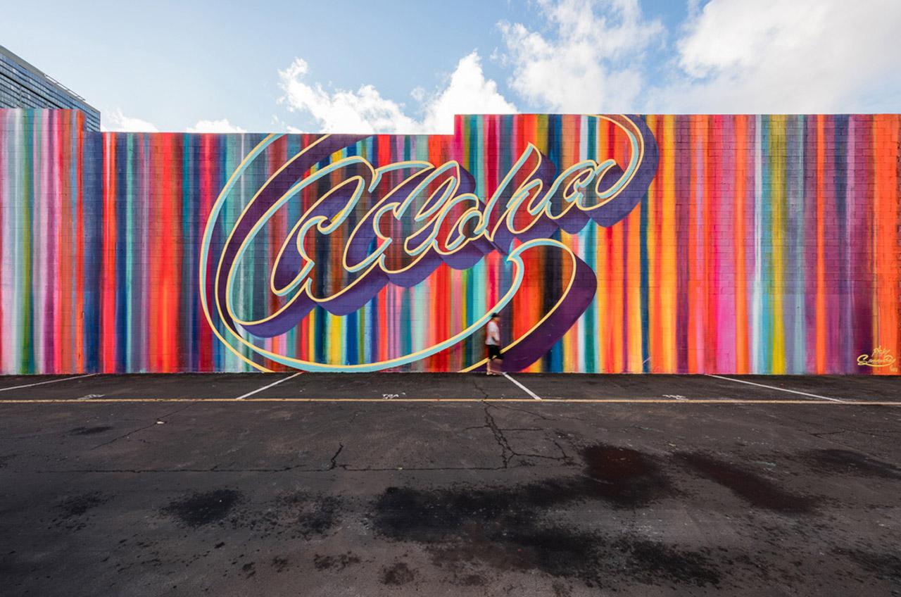pow wow 2016 honolulu hawaii grafite mural dionisio arte (2)