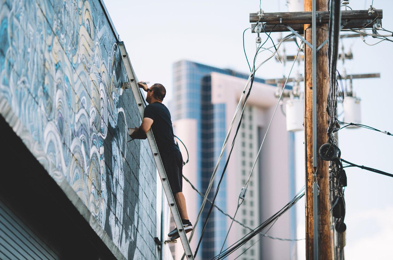 pow wow 2016 honolulu hawaii grafite mural dionisio arte (5)