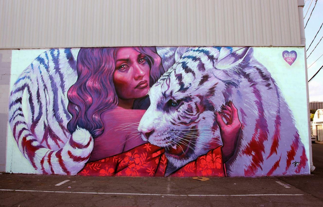 pow wow honolulu hawaii grafite mural dionisio arte (1)