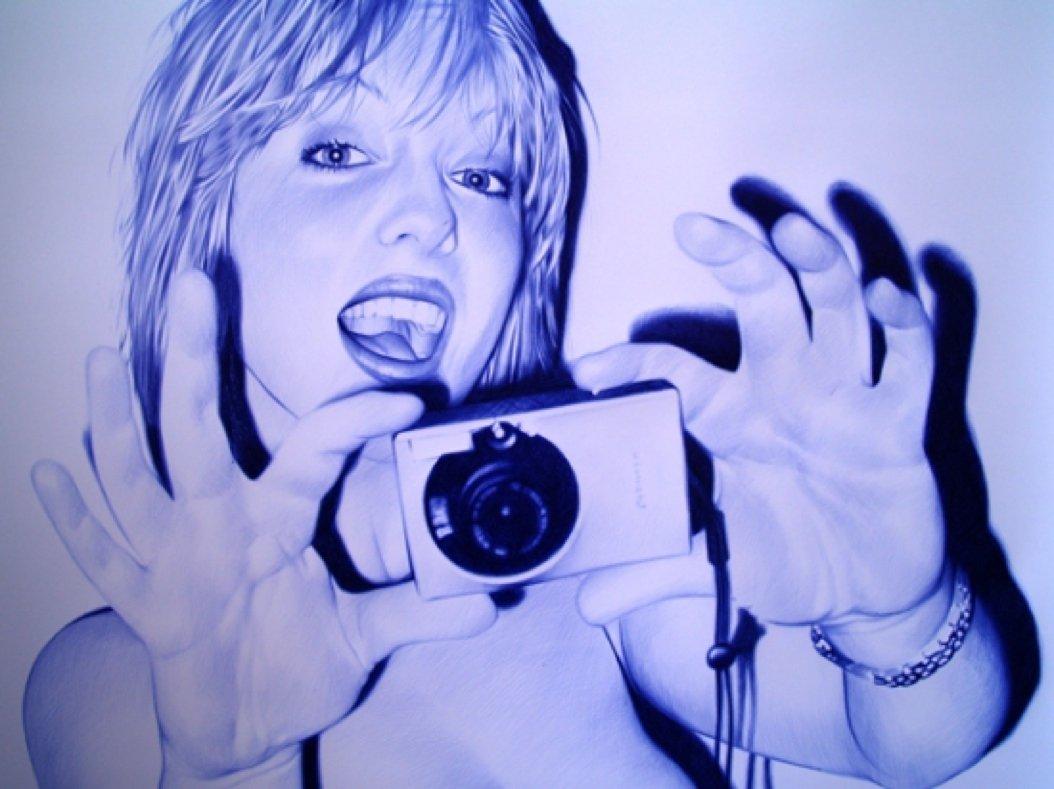 juan francisco cavas realismo caneta esferografica bic oleo sobre tela pintura dionisio arte (13)