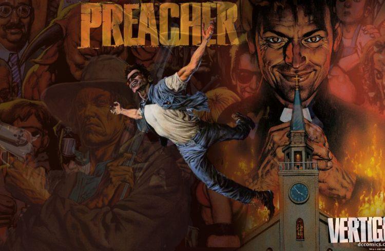 preacher dc comics hq garth ennis steve dillon glenn fabry dionisio arte 1