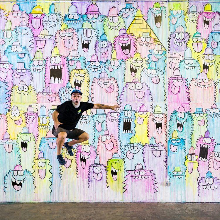 kevin-lyons graffiti design desenho publicidade